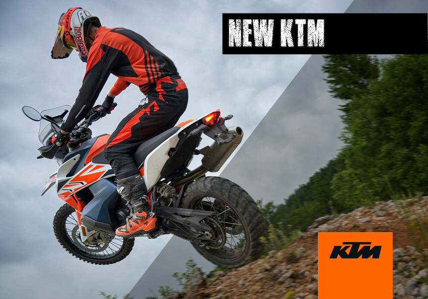 NEW KTM MOTORCYCLES