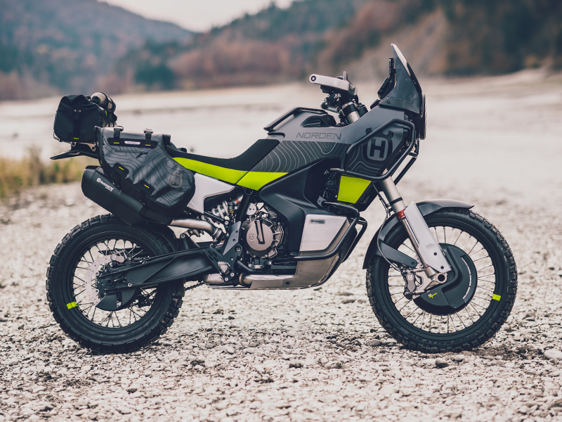 HUSQVARNA TRAVEL BIKES