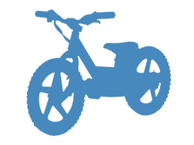 KIDS EBIKES / TRAINING BIKES